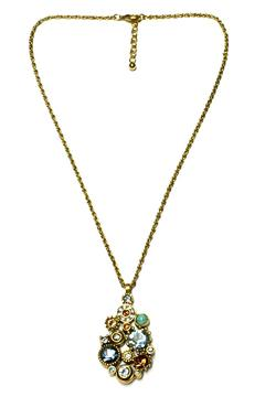 Shoptiques Product: Glam Crystal Necklace