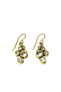 Patricia Locke Splash Crystal Earrings - Alternate List Image