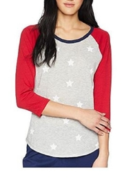 PJ Salvage Patriotic Baseball Tee - Product Mini Image