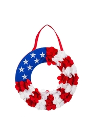 Evergreen Enterprises Patriotic Lit Doorhanger - Product Mini Image