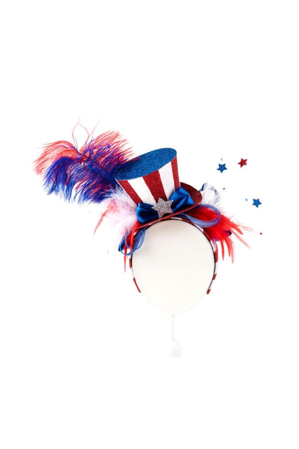 One Hundred 80 Degrees Patriotic Party Headband - Main Image
