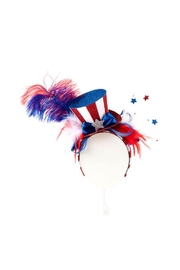 One Hundred 80 Degrees Patriotic Party Headband - Front cropped