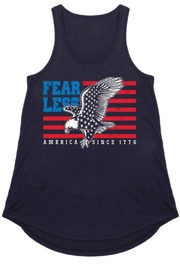 Color Bear Patriotic Racerback Tee - Product Mini Image