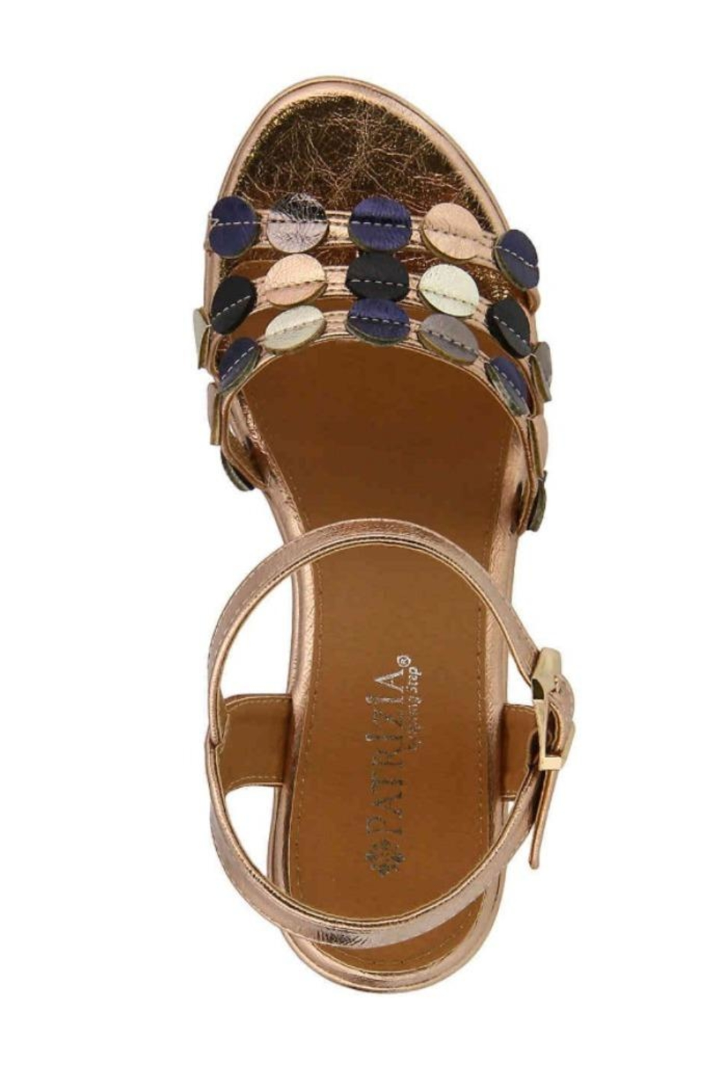 Spring Step  Patrizia Opal Sandals - Front Full Image