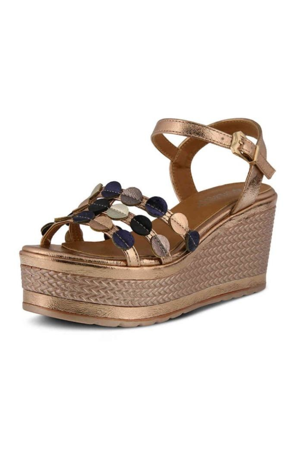 Spring Step  Patrizia Opal Sandals - Front Cropped Image