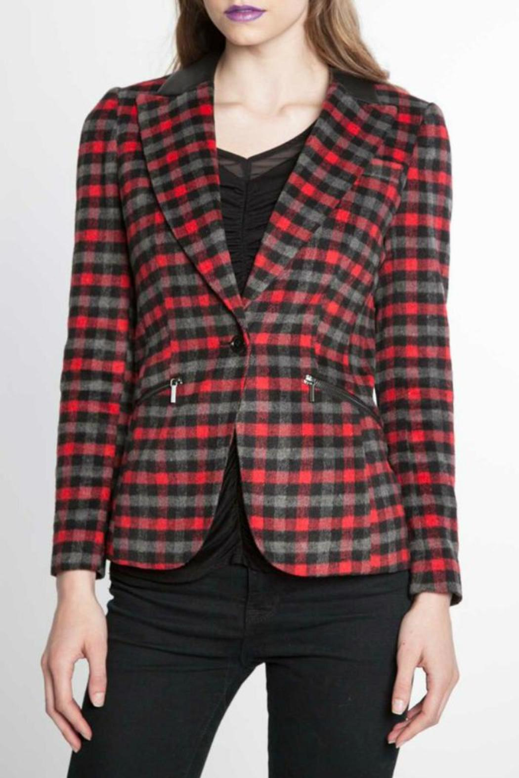 Patrizia Luca Plaid Perfect Blazer from Wisconsin by Tres ...