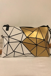 Patrizia Luca Two-Toned Geometric Clutch - Product Mini Image