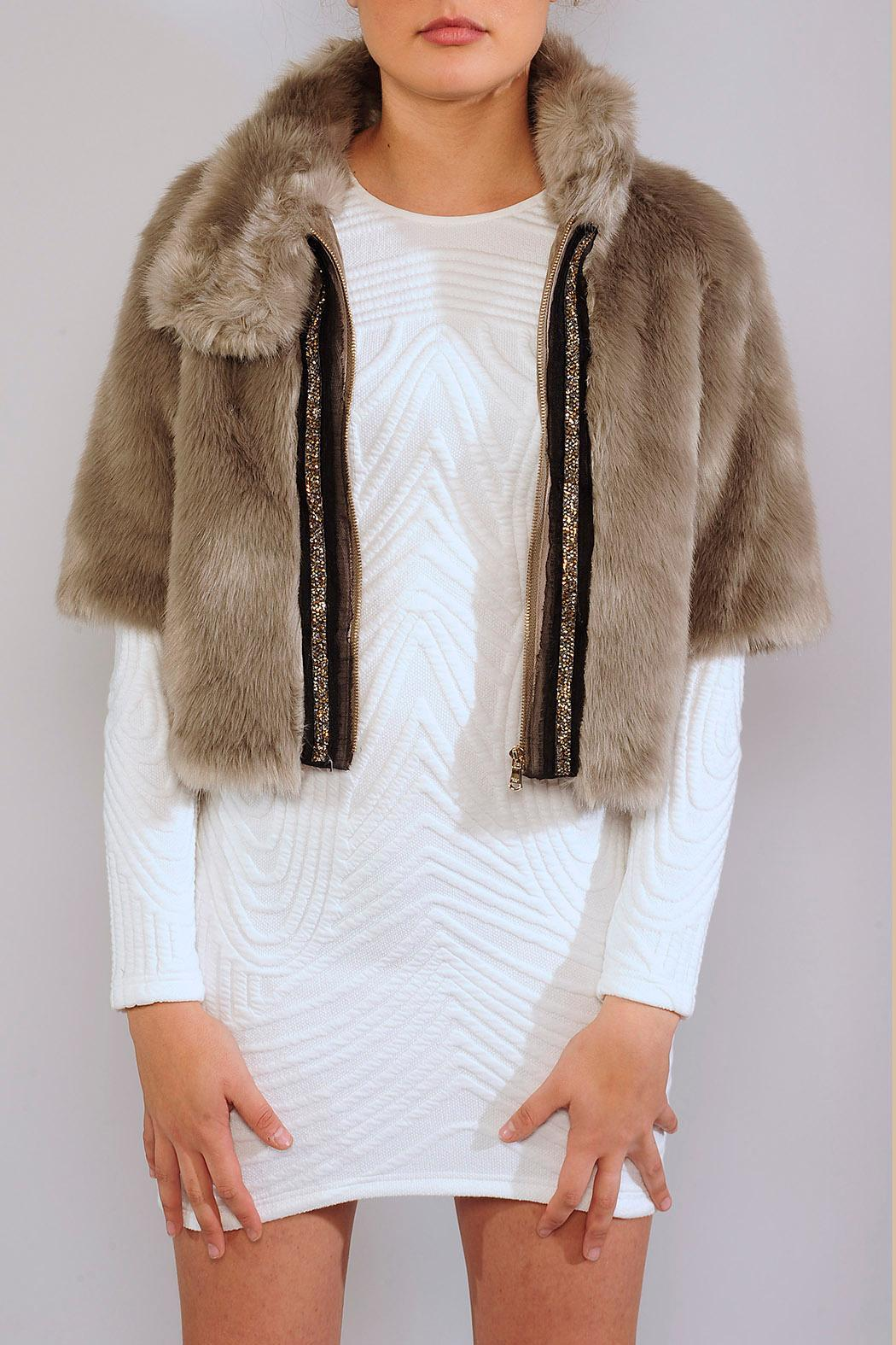 5f20805487 Patrizia Pepe Faux Fur Jacket from Hammersmith and Fulham by Kyra ...