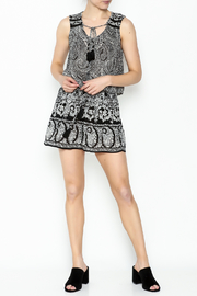 Patrons of Peace Print Shorts - Side cropped