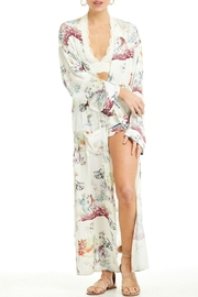 Patrons of Peace In Bloom Kimono - Front full body