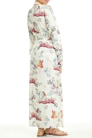 Patrons of Peace In Bloom Kimono - Back cropped