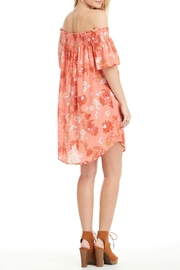 Patrons of Peace Off Shoulder Dress - Front full body