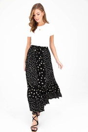 Patrons of Peace Mariposa Floral Skirt - Side cropped
