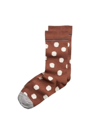 Bonne Maison Pattern Cotton Socks - Product Mini Image