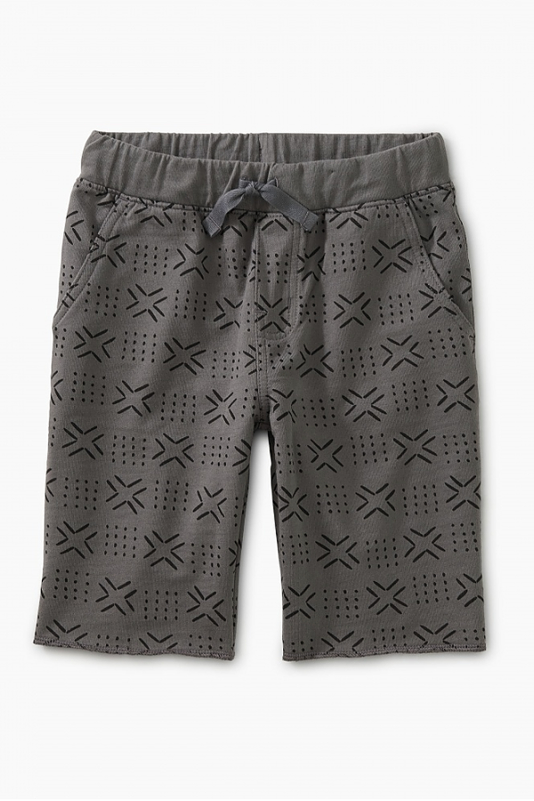Tea Collection Pattern Cruiser Shorts - Front Cropped Image