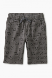 Tea Collection Pattern Cruiser Shorts - Front cropped