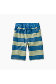 Tea Collection Pattern Crusier Shorts - Front cropped
