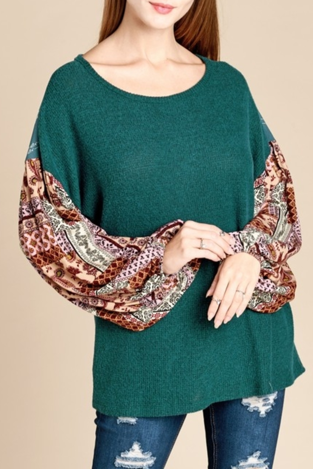 9aefdfb3e10699 Oddi Pattern Princess top from Mississippi by Exit 16 - Diamondhead ...