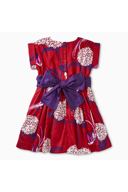 Tea Collection Pattern Sash Dress - Front full body