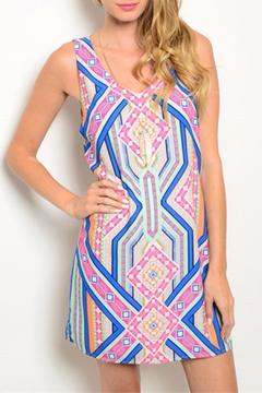 Shoptiques Product: Pattern Shift Dress