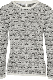 Skovhuus Pattern Sweater - Front cropped