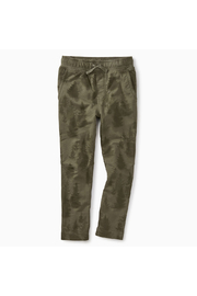 Tea Collection Pattern Trek Pants - Front cropped