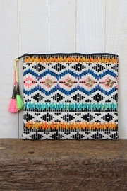 Lovestitch Patterned Clutch - Product Mini Image
