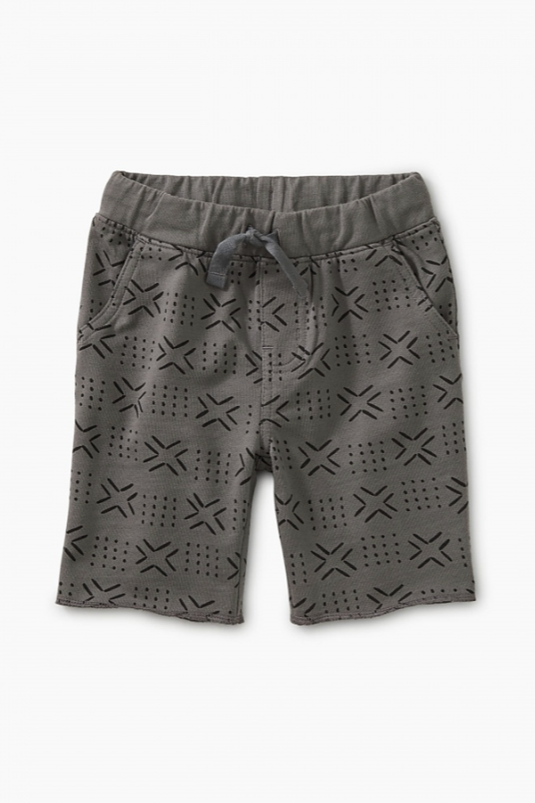 Tea Collection Patterned Cruiser Baby Shorts - Main Image