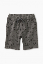 Tea Collection Patterned Cruiser Baby Shorts - Front cropped