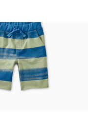 Tea Collection Patterned Crusier Baby Shorts - Front full body