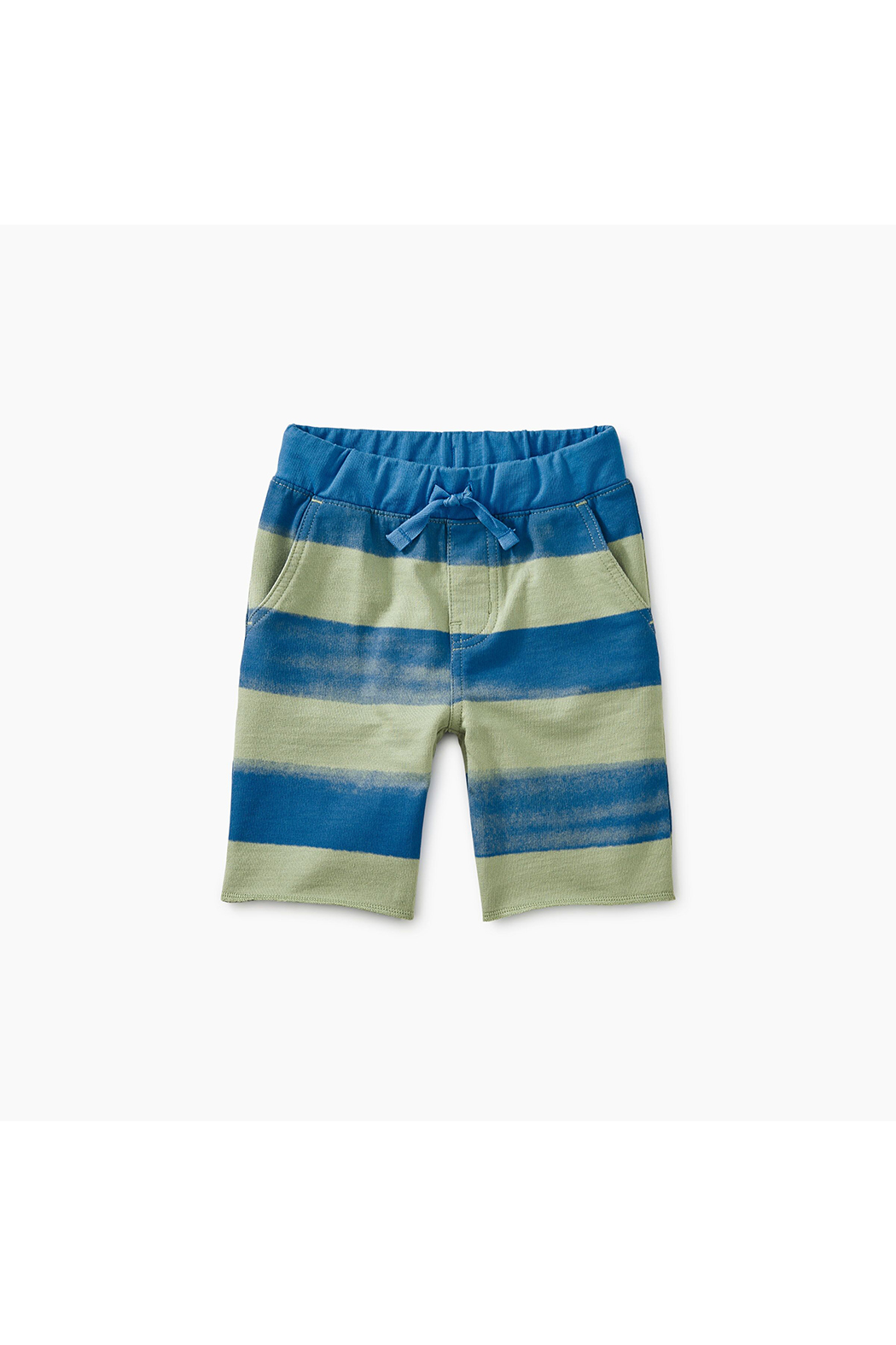 Tea Collection Patterned Crusier Baby Shorts - Main Image
