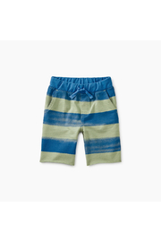 Tea Collection Patterned Crusier Baby Shorts - Front cropped