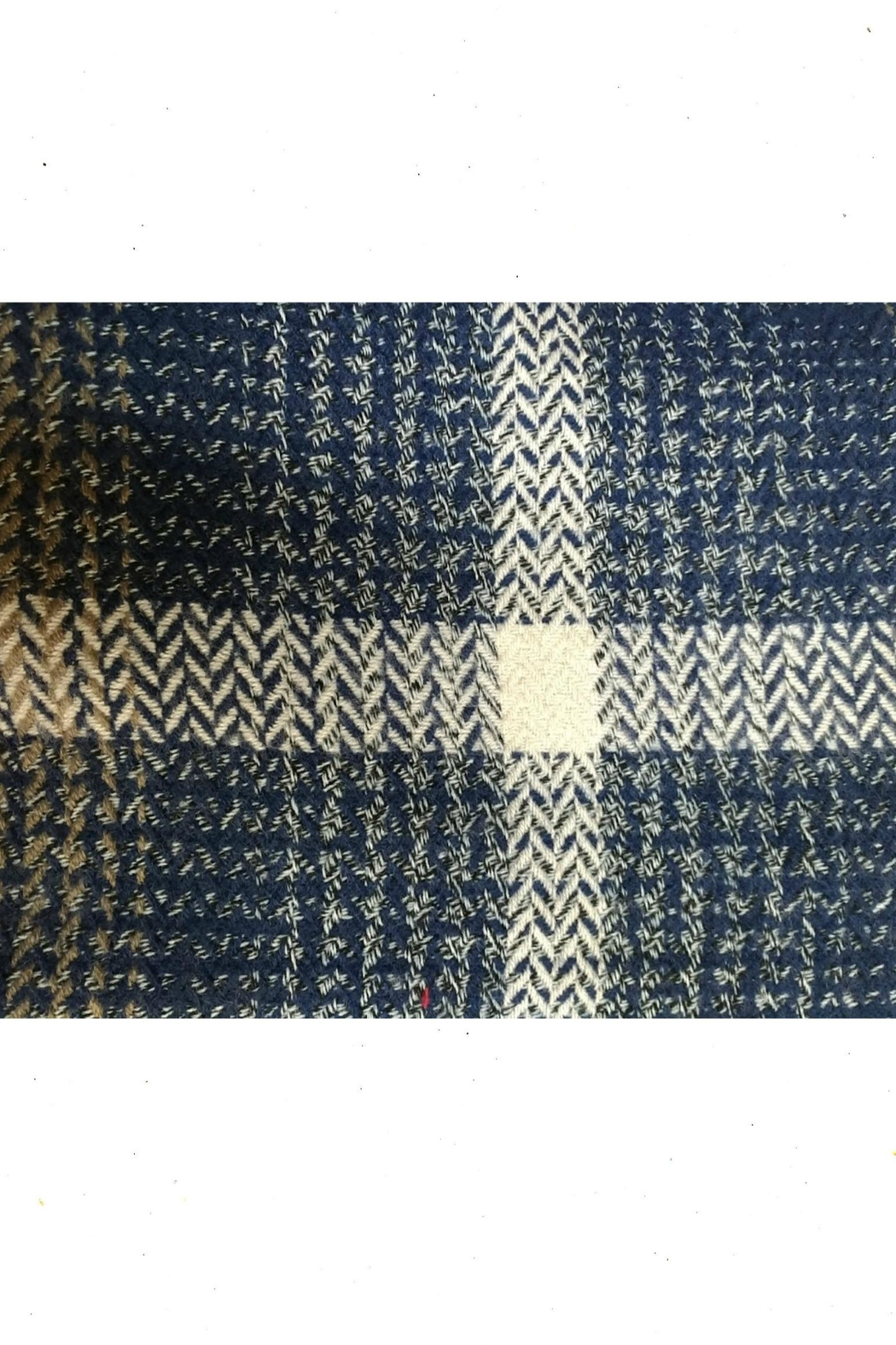 Charlie Paige Patterned Scarf - Front Cropped Image