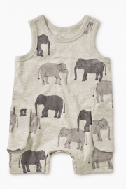 Tea Collection Patterned Tank Romper - Product Mini Image