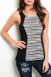 Adore Clothes & More Patterned Tank Top - Product Mini Image