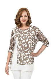 Scapa Patterned Top - Product Mini Image