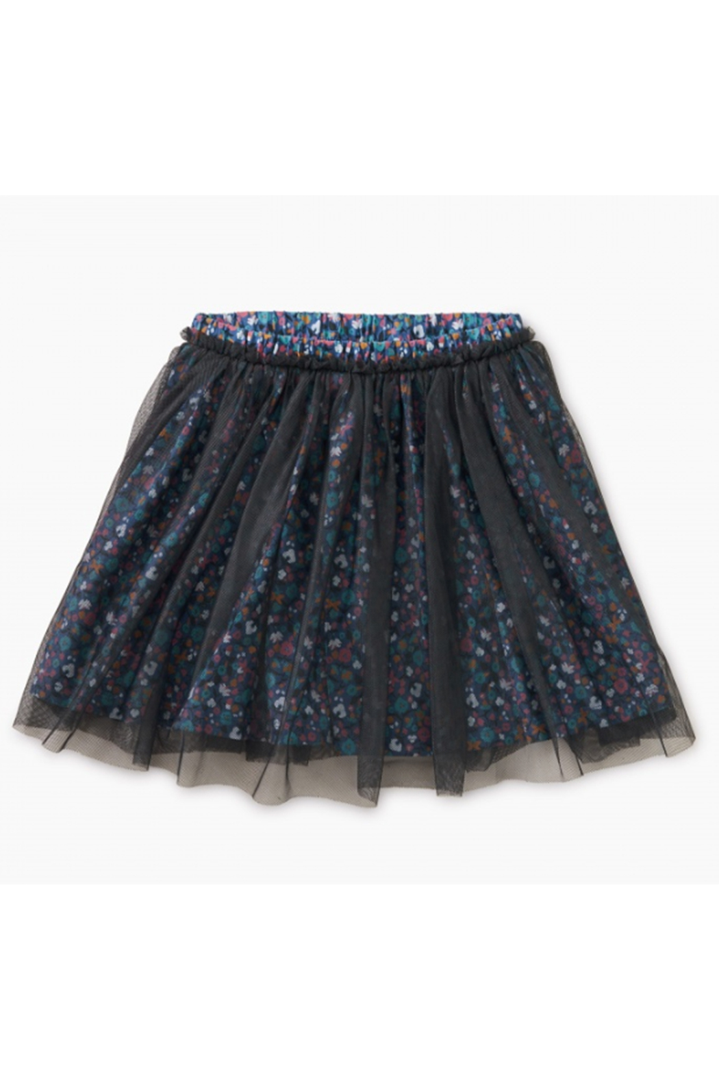 Tea Collection Patterned Tulle Twirl Skirt - Main Image