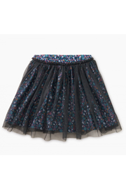 Tea Collection Patterned Tulle Twirl Skirt - Front cropped