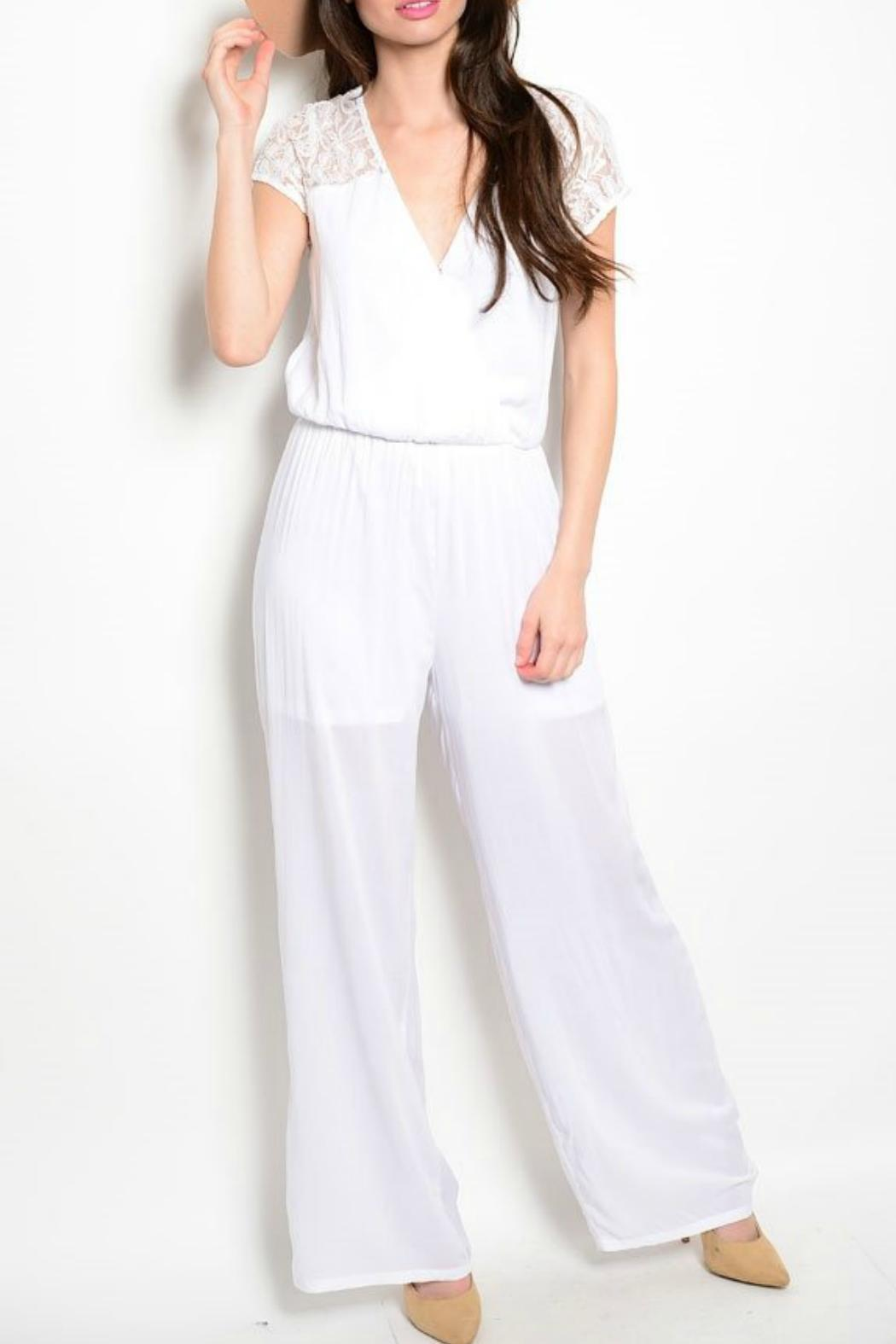 cb09aff0926 Patty S Closet White Pant Jumper From Las Vegas Tiques