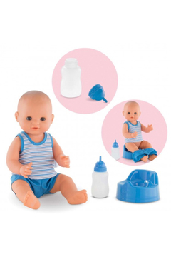 Corolle Paul Drink-And-Wet Bath Baby Doll - Product List Image