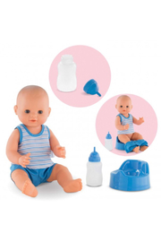 Corolle Paul Drink-And-Wet Bath Baby Doll - Product Mini Image