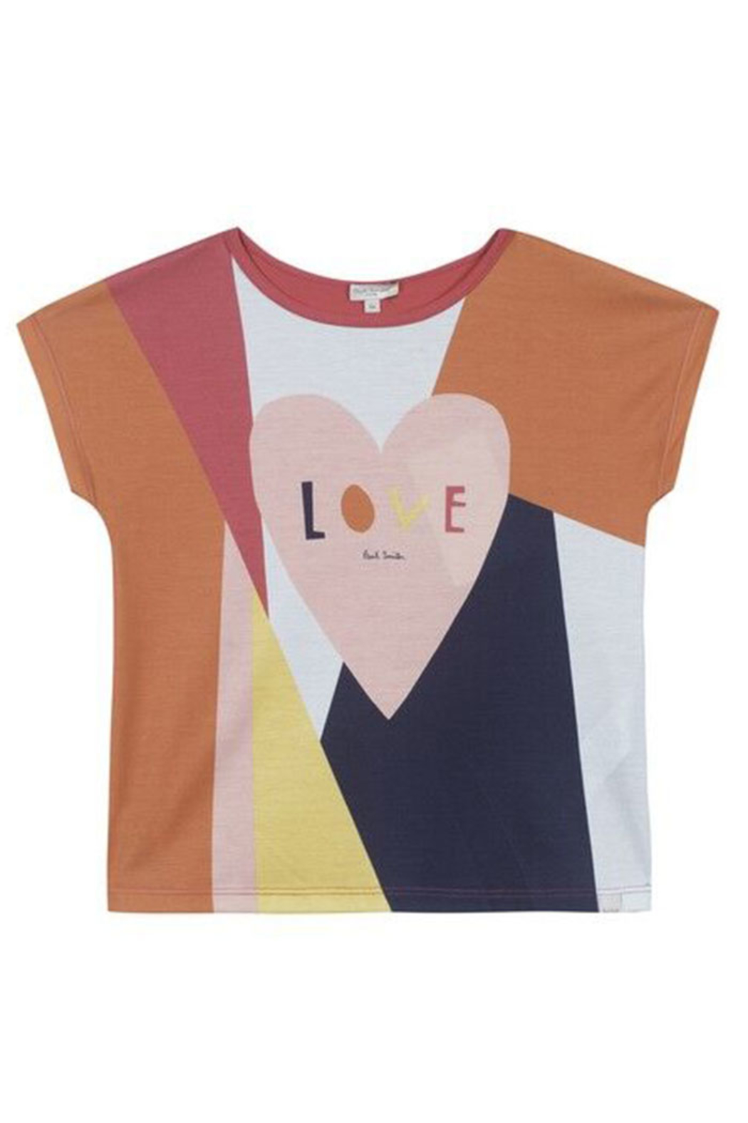 Paul Smith 8-14 Years Love Shirt - Front Cropped Image