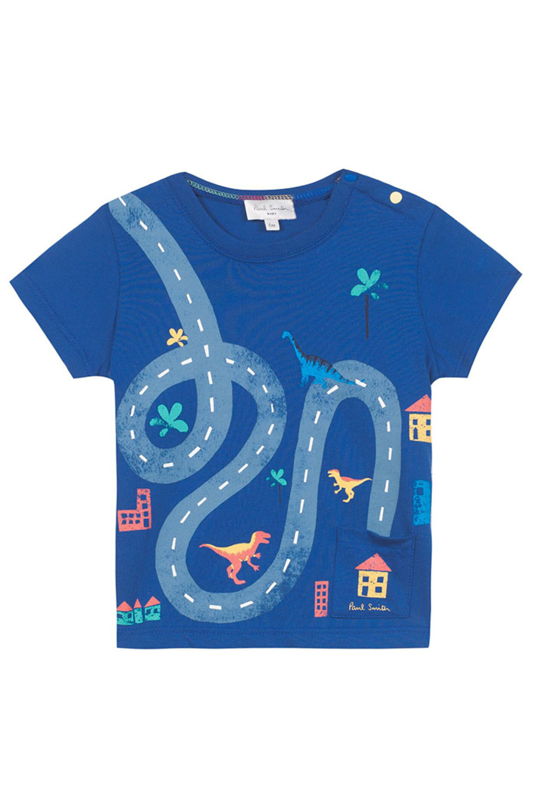 Paul Smith Napoleon Road Tee - Front Cropped Image