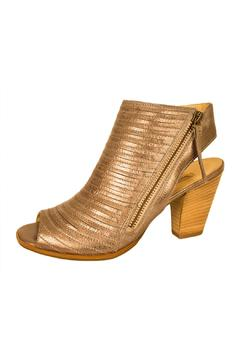 Paul Green Silver Leather Bootie - Alternate List Image