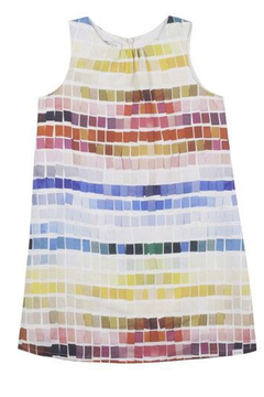 Paul Smith 2-6 Years Tile Print Dress - Alternate List Image