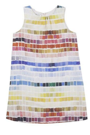 Paul Smith 2-6 Years Tile Print Dress - Front cropped