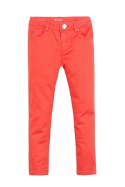 Paul Smith Junior Bright Orange Pants - Front cropped
