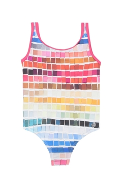 Shoptiques Product: Colourful Printed Swimsuit