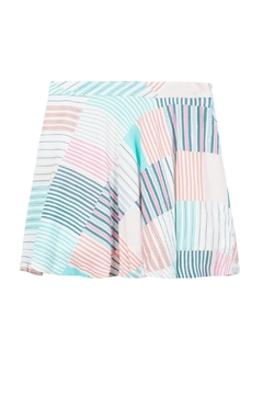 Shoptiques Product: Colorful Flowy Skirt