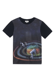 Paul Smith Junior Galaxy Printed Top - Product Mini Image